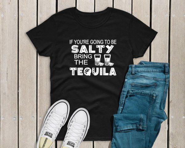 Salty Tshirt black