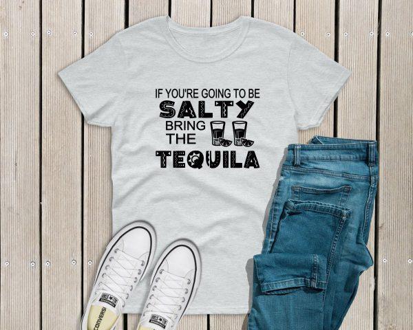 Salty Tshirt grey