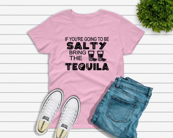 Salty Tshirt pink