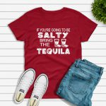 Salty Tshirt red