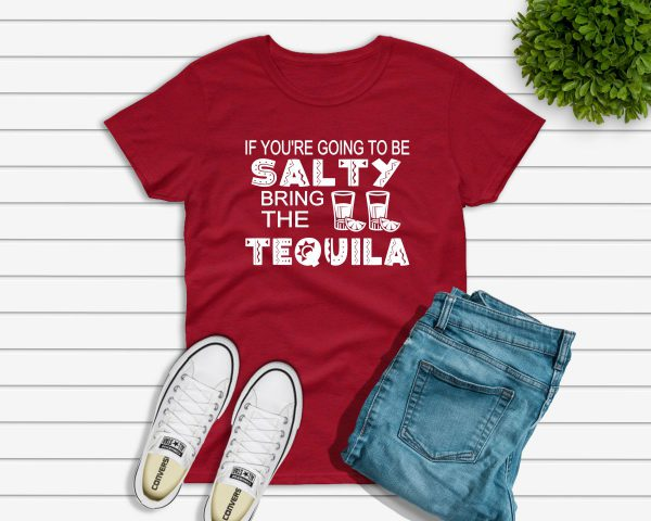 Salty Tshirt red