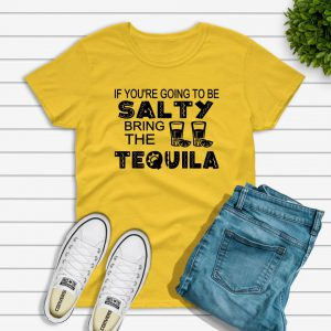 Salty Tshirt yellow