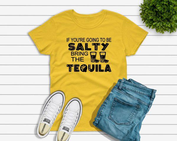 Salty Tshirt yellow