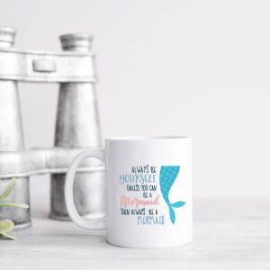 be a mermaid mug