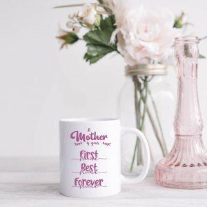 Best friend mug pink
